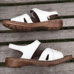 9771e79586b9 Naturalizer Shoes - NaturalSoul by Naturalizer white Cyril sandal sz 8
